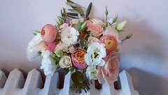 bridesmaid's bouquet (Flower 597) Tags: weddingflowers weddingflorist centerpiece weddingbouquet flower597 bridalbouquet weddingceremony floralcrown ceremonyarch boutonniere corsage torontoweddingflorist