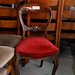 Ornate spoon back dining chair