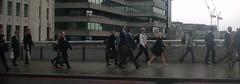 Commuters, London (Dan_DC) Tags: london cityoflondon londonbridge commuters people walking rushhour uk