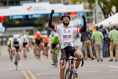 Stage 5 Winner Francisco Mancebo at the 2016 Tour of Alberta