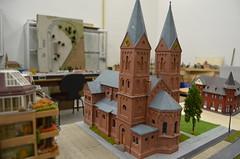Nikolaikirche (Leo Papic) Tags: kirche mvg swm sfm fmtm modellbahn tram module museum 2016 zum heiligen bimbam westtangente