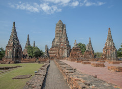 Wat Chaiwatthanaram Ubosot Area (DTHA082)  (Gerry Gantt Photography) Tags: thailand temple scenic wat ayutthaya  watchaiwatthanaram   totallythailand thailand ayutthaya phranakhonsiayutthayadistric phranakhonsiayutthayadistrict