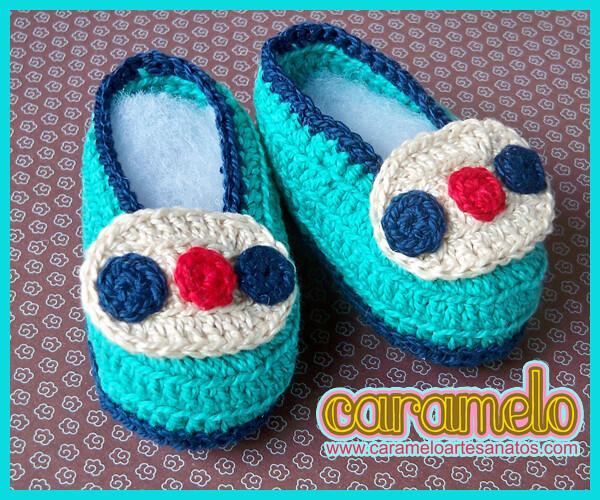 4a9d389c30 ... mocassim eumechamoantonio. Bebês merecem (Caramelo    Artesanatos)  Tags  crochet bebê criança sapato caramelo sapatinho