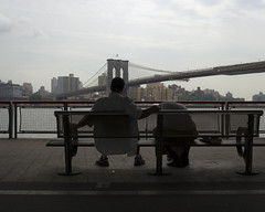 (das de perro) Tags: street city nyc newyorkcity urban usa ny newyork america puente calle chinatown ciudad eua brooklynbridge hudsonriver urbano nuevayork barriochino