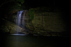 buderim falls at night (LJ Mears) Tags: longexposure nightphotography night waterfall lowlight australia lucas queensland sunshinecoast buderim buderimfalls lucasjames