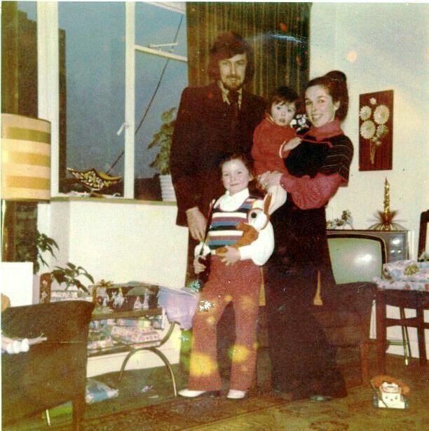 Billy, Nancy and Audrey McFarlane, 1970