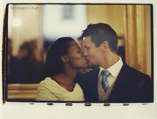 Pareja en boda - Copyright Edward Olive fotografos de bodas y retratos La Moraleja Torrelodones Boadilla del Monte Arturo Soria La Finca Monte Principe