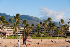 Lahaina Mountains (b0ssk) Tags: beach hawaii maui cliffjumper