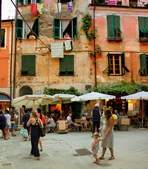 A great joy is coming soon in Monterosso al Mare (Bn) Tags: life old summer vacation food holiday man streets colors stone dinner walking restaurant evening harbor town al fishing topf50 women colorful mediterranean italia mare boulevard village child five painted liguria joy terraces restaurants mama tourist villages pregnant medieval unesco mothers clothes drip shops terre towels winding charming everyday topf100 narrow washing culinary pleasure cosy cinque buidling italianriviera alleys wines delights dusj cultivated bustling 100faves 50faves monterosse