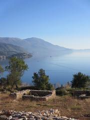 Lake vista, Ohrid, Macedonia (Paul McClure DC) Tags: architecture scenery historic macedonia ohrid balkans oct2012