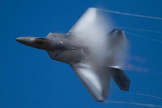F-22 vapour.