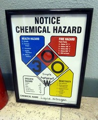 Warning nitrogen (Arenamontanus) Tags: phoenix sign warning nitrogen alcor cryonics
