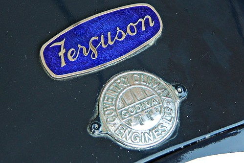 205 Ferguson + Coventry Climax Badges