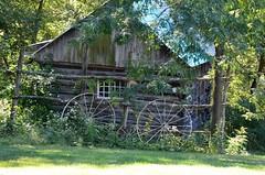 Tiny house (shireye) Tags: old usa holiday crust countryside us nikon rust ruins driving republic pennsylvania rusty backroads crusty tinyhouse d7000 luzernetownship
