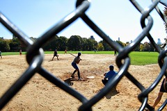 Americas Favorite Past Time (olamorken) Tags: nyc newyorkcity newyork canon baseball centralpark 7d softball batter americasfavoritepasttime