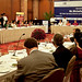 UN Women Executive Director Michelle Bachelet attends a CII luncheon meeting with leaders in India