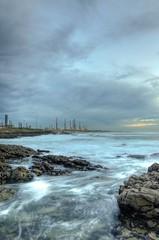 Petrafita (Nuno.Medeiros) Tags: ocean sea praia beach portugal mar nikon porto hdr matosinhos galp chulos petrogal refinaria leca perafita flickraward hdraddicted d7000 nikonflickraward