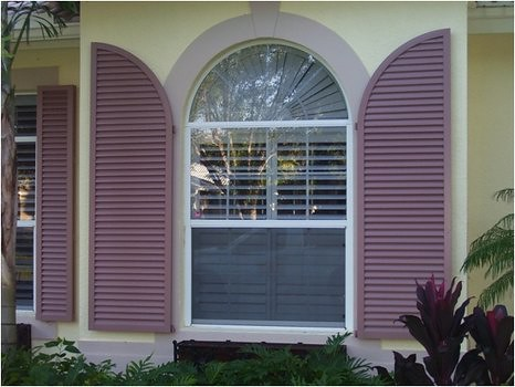colonial huricane shutters
