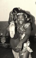 Kcap South African Zulu Cultural Dance Group Africa Centre London Sepia June 2000 b038 (photographer695) Tags: africa hot sexy london feet girl june sepia dance toes 2000 dancing african south centre group cultural zulu kcap