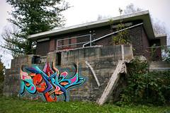 Setik01 (Setik01) Tags: old urban streetart art abandoned netherlands wall gold graffiti design hall sketch montana paint tag fame nederland marker spraypaint piece aerosol legal spraycan blackbook sparvar fatcap haarlemmermeer badhoevedorp ironlak setik