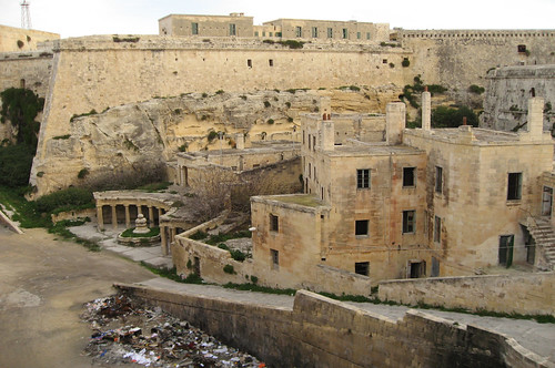 Malte, La Valette. Fort St Elmo 2
