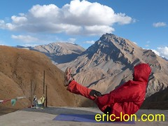 Eric Lon yoga at Demul, Spiti 2012 (8) (Eric Lon) Tags: india cold yoga energy dynamic tibet heat practice souffle himalaya breathe froid warming spiti breathing inde tibetain himalayen chaleur activate respiration ericlon rechauffer demul acriver
