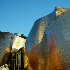 Museo Guggenheim Bilbao (nuska2008) Tags: espaa interesting arquitectura europa edificio bilbao interesante select reflejos museos ruby2 museoguggenheim arquitecturavanguardista 100commentgroup lugardeinters nuska2