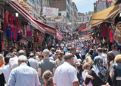 Busy... shopping district in Istanbul (YetAnotherLisa) Tags: market crowd istanbul 365travelmemories