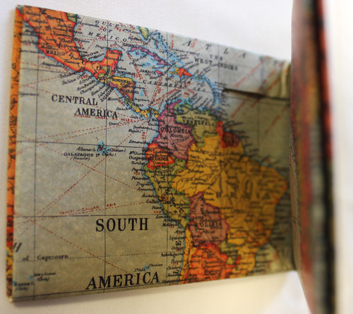 Stanfords vintage map wallet