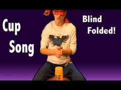 BLIND FOLDED! Youre Gonna Miss Me (Cup Song)- Cover (ViewsForMe) Tags: music me cup perfect funny singing blind song lol cups your cover pitch folded miss gonna youre