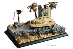 At the Edge of the Future Overview (Andreas) Tags: tank lego military diorama ustank legotank thepurge legombt thepurgetank thepurgeusa thepurgeustank