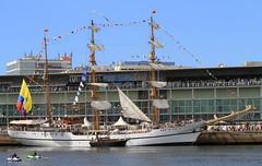 IMG_1615 (Paco Gonzlez1) Tags: puerto muelle corua barco cuttysark 2012 velero tallshipsrace trasatlantico