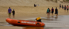 Surf Lifesaving Australia (Schlingshot Photography) Tags: ocean sea beach closeup sand surf bluesky pacificocean southernocean swell sandhill surfersparadise goldcoast surflifesaving tonykemp schlingshot