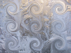 Winter is fun (Agnieszka Kin) Tags: winter window frost zima okno szron