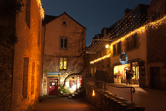 Rochefort en Terre (StefanoPiemonte) Tags: bretagne breizh noël natale morbihan notturna notte 2012 bretagna rochefortenterre stefanopiemonte