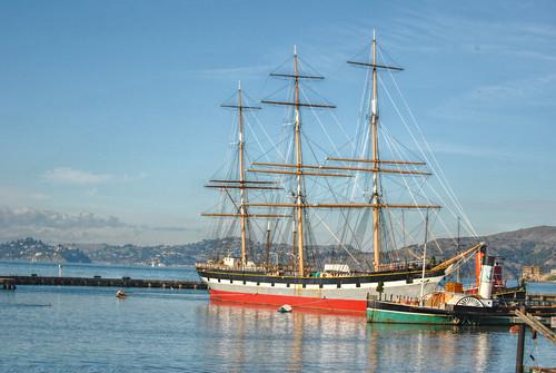 sanfrancisco california travel sailing ship 1886 balclutha sanfranciscomaritimenationalhistoricalpark usnationalhistoriclandmark pacificqueen starofalaska ipiccy
