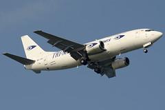 Tri-MG Boeing 737-300SF (PK-YGG) DSC5633 (KWsideB) Tags: plane airplane airport aircraft aviation flight aeroplane cargo landing boeing changi freight changiairport spotting 737 freighter b737 planespotting wsss 20r trimg b737f 737301sf runway20r trimgintraasiaairlines pkygg