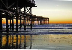 sunset at the pier (ranchodon) Tags: rememberthatmomentlevel1 rememberthatmomentlevel2 rememberthatmomentlevel3