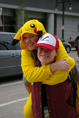 Ashe & Picachu (Dingo115) Tags: green halloween up star book costume comic dress cosplay snake denver pokemon wars lantern mad maid con warlock hatter ashe