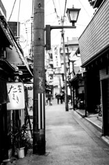 Bye Nara |  (francisling) Tags: street japan blackwhite  nara