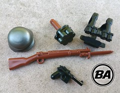 World War Brick 2016 CT - BrickArms Attendee Pack (BrickArms) Tags: brickarms gewehr m24 c96 legoguns