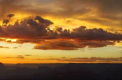 DSC_0064 yavapai point sunset hdr 850 (guine) Tags: grandcanyon grandcanyonnationalpark canyon rocks clouds sunset hdr qtpfsgui luminance