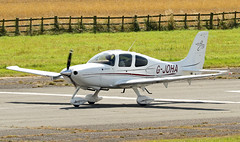 G-JOHA Cirrus SR20 GTS (David Russell UK) Tags: gjoha cirrus sr20 sr 20 gts aircraft aeroplane airplane flying vehicle aviation transport sport peterborough conington business airport egsf