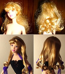Curls (Disney_&_Collection) Tags: aurora sleeping beauty briar rose 1959 walt disney princess collection toy store mattel barbie doll