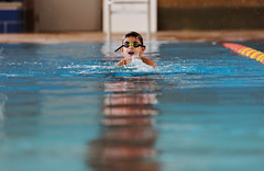 Up for Air (JasonCameron) Tags: kid play cute fun child swim goggles lap pool olympic dreams