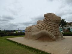 P1050545 (aiaps) Tags: nandi lepakshi ancient india giant