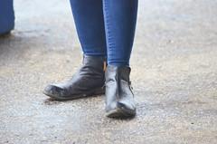 201608-21 (12) r7 wet boots at Laurel Park (JLeeFleenor) Tags: photos photography md maryland marylandracing marylandhorseracing laurelpark girls woman femme frau vrouw donna lamujer dona    ena kvinde nainen   n  wanita   kvinne  kobieta mulher  kvinna  kadn  ngiphn boots shoes footwear footgear jeans tightjeans