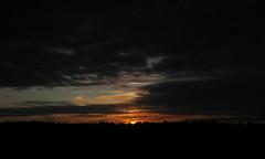 (Kelvin P. Coleman) Tags: canon powershot somme country countryside campagne landscape paysage sky ciel sunset coucherdusoleil cloud nuage cloudy nuageux evening soir summer t dusk crpuscule travel silhouette