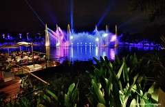 Vidanta's nightly lightshow (Rex Montalban Photography) Tags: rexmontalbanphotography vidanta nuevovallarta night lightshow hdr