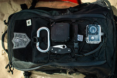 SHADO Loadout (Pack Config) Tags: prometheusdesignwerx pdw pdwlife shado pack petzl carabiner gopuck charger batterypack spydercourban spyderco lanyard sjcam sj4000